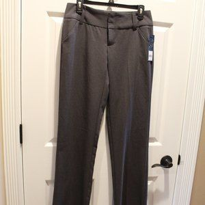 Daisy Fuentes Straight Leg Gray Pants 4